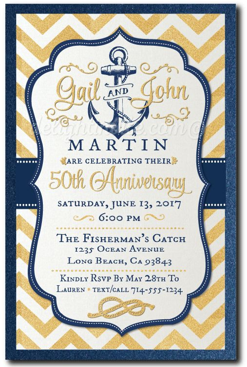 13 best Anniversary Party images on Pinterest Custom invitations - fresh invitation samples for 50th wedding anniversary