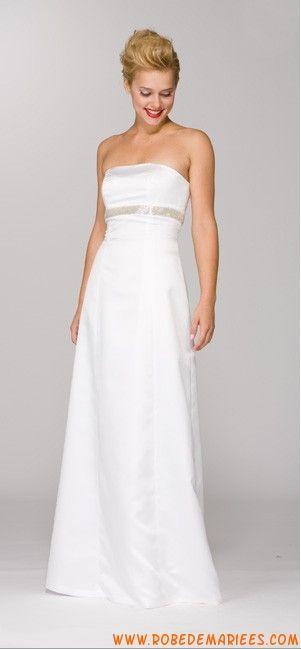 Robe de mariée princesse perlée collection 2012