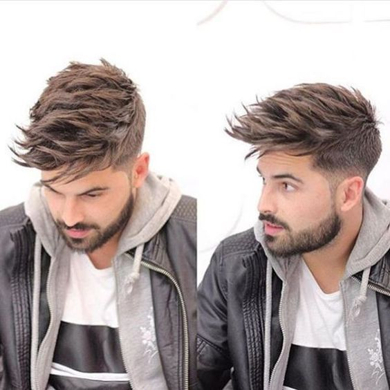 Image result for Short Sides with Medium Length Hair on Top MEN HAIR