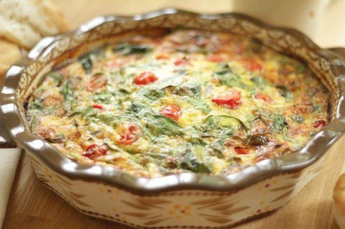 temp-tations® by Tara: Spinach and Cheddar Frittata
