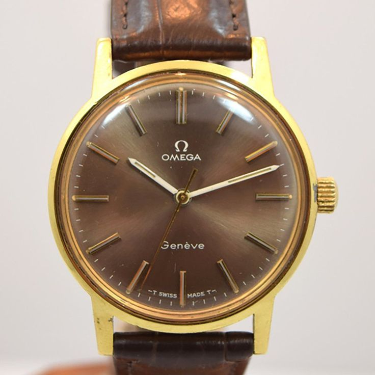 1971 Omega Geneve Ref. 135.070 Yellow Gold-Plated Watch