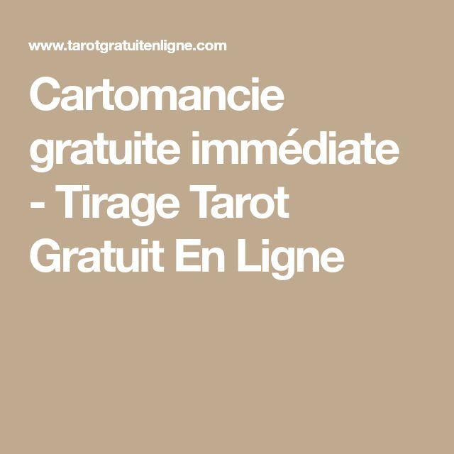 Cartomancie gratuite immédiate - Tirage Tarot Gratuit En Ligne