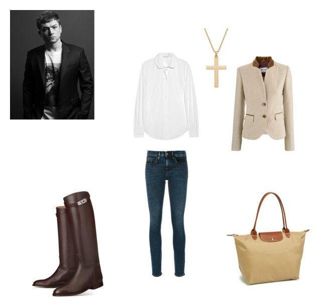 """""""George Michael - Freedom! '90"""" by politicalgal2005 ❤ liked on Polyvore featuring Calvin Klein Jeans, Marc Jacobs and Longchamp"""
