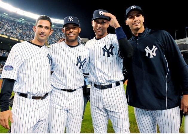 Posada, Rivera, Jeter and Pettitte