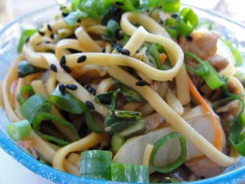 Low Sodium Yakisoba recipe