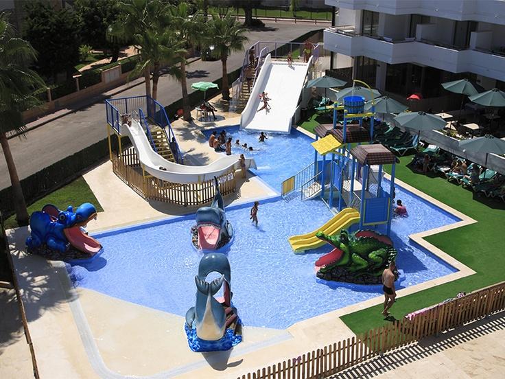 Parque acuatico  Aparthotel Esperanza Mar