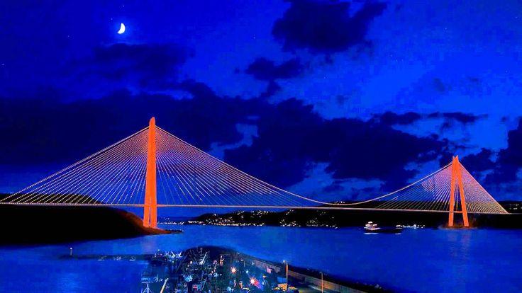 3.Boğaz Köprüsü Aydınlatma Tasarımı - ZEVE Mühendislik ve Aydınlatma