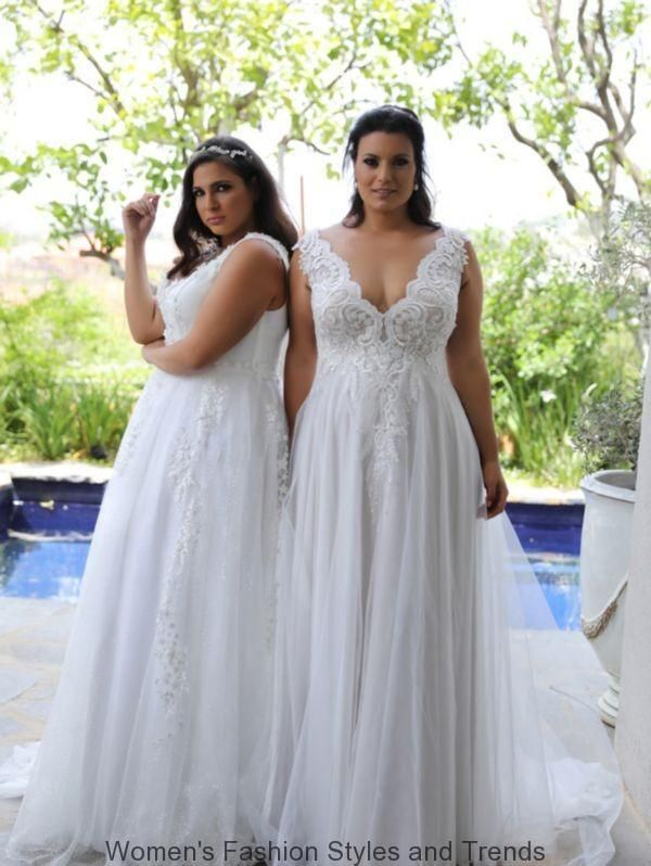 Stylize Yourself In Perfect Plus Size Dresses 79 Women Love To Dress Up And Go Out To Part Plus Size Wedding Gowns Wedding Dress Alterations Wedding Dresses