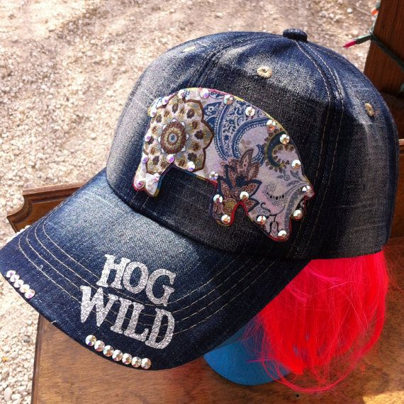 Stock Show Fair Project Custom Cap by BlossomsbyRhonda on Etsy, $20.00