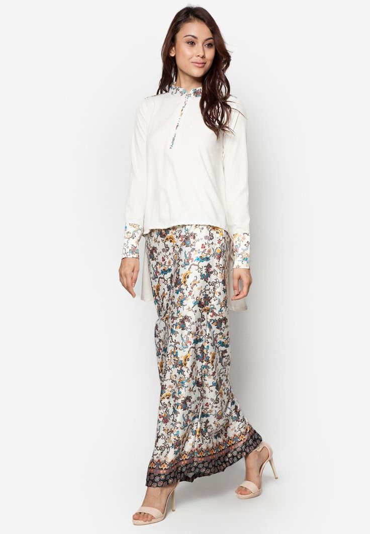 Marshal Kurung from FLEURÉ in white_1