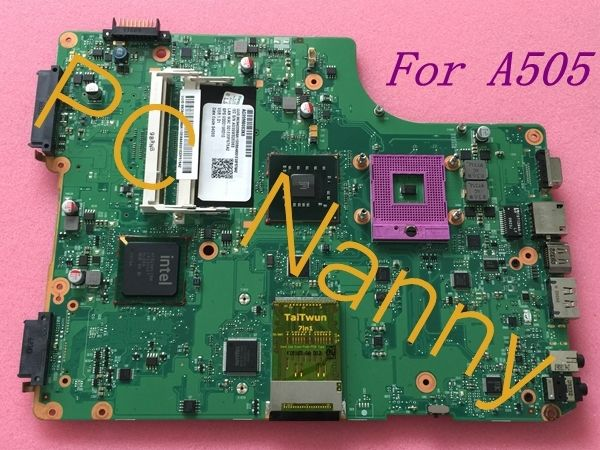 67.00$  Watch here - For TOSHIBA Satellite A505-S6960 INTEL Laptop Motherboard V000198010 6050A2250201 DDR2 GM45 + Free CPU  #buymethat