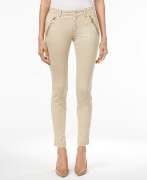 Michael Michael Kors Cargo Skinny Pants - Tan/Beige 6