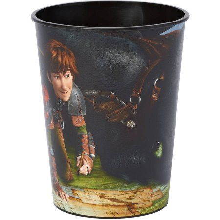 How to Train Your Dragon 16 oz. Plastic Party Cup, Party Supplies, Multicolor