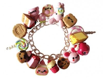 Cute Food With Faces | especially love the choose your own charm bracelets where you can ...