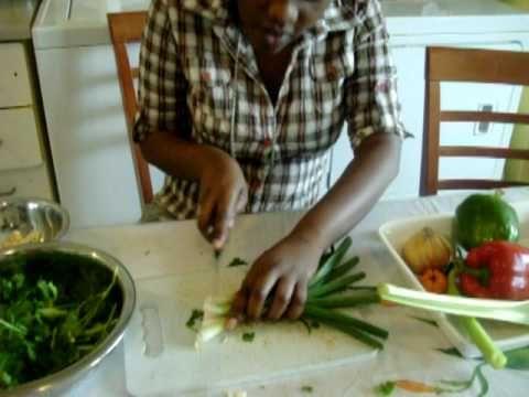 Epis (haitian marinade) - YouTube - I want to make this!  --dm