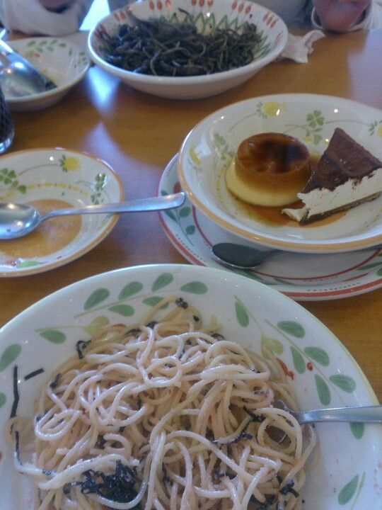 Italian foods with Japanese style by Saizeriya, Odaiba, Tokyo