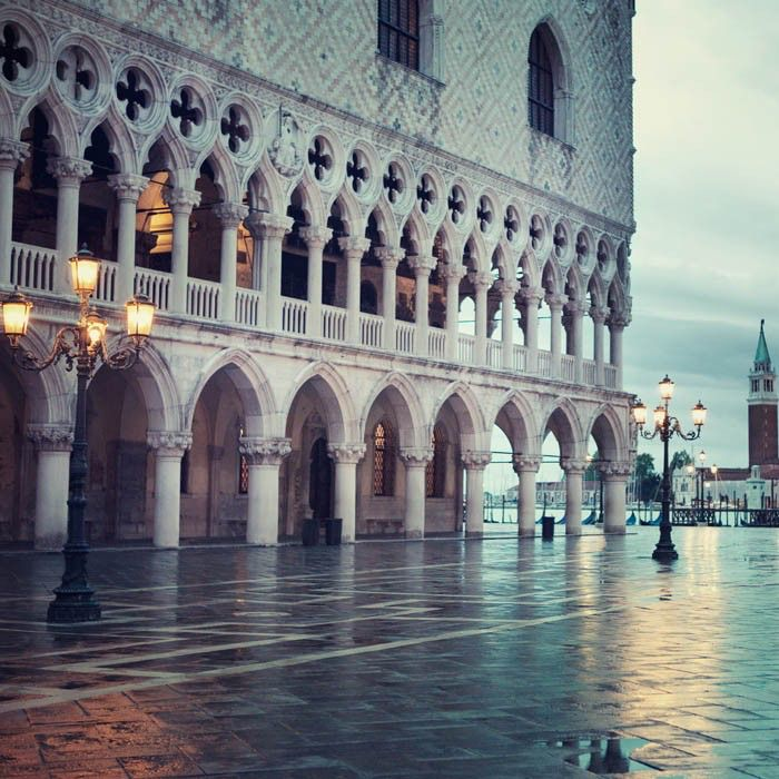 """St Mark's Square, Venice Photography, Italy Print, Wall Art, Venice Architecture Art, Travel Photography, Italian Wall Decor, """"Blue Hour"""" by EyePoetryPhotography on Etsy https://www.etsy.com/listing/53417840/st-marks-square-venice-photography-italy"""