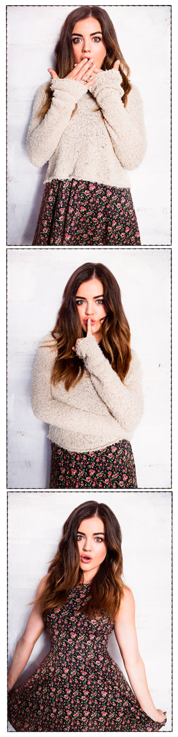 Hollister + Lucy Hale