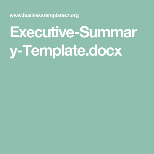 Cele mai bune 25+ de idei despre Executive summary template pe - executive summary template free