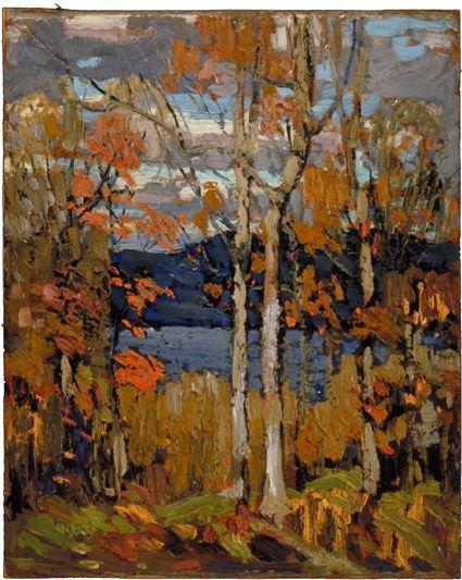 Tom Thomson  Algonquin, October, Fall 1914