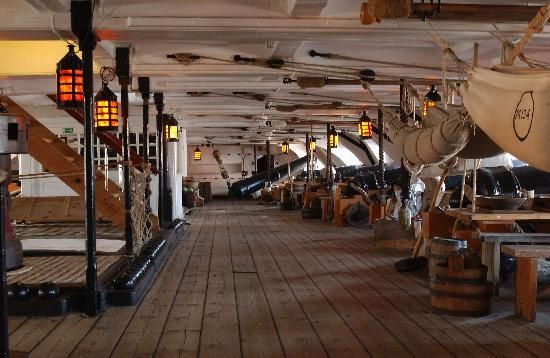 Portsmouth Historic Dockyard: HMS Victory Interior
