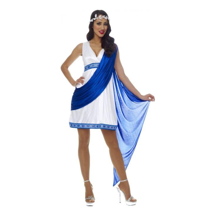 Grekisk Kejsarinna Maskeraddräkt
