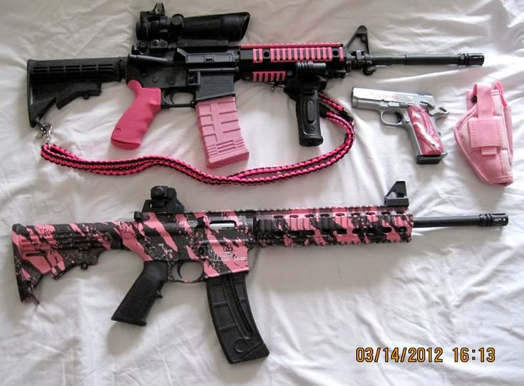 ar-15 pink camo | Pink Collection Thus Far - AR15.Com Archive