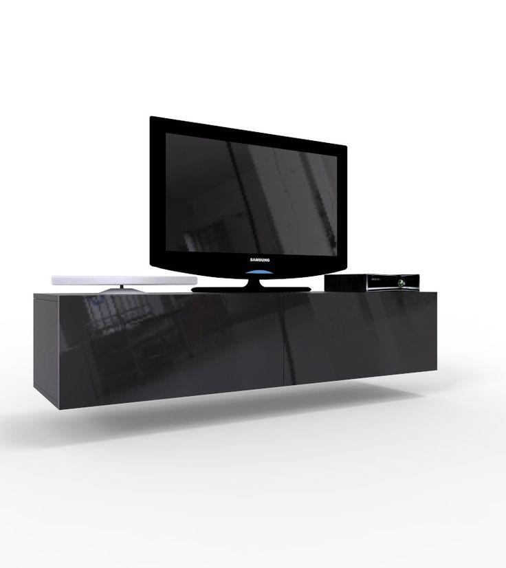 VIGO 14  szafka pod telewizor do salonu czarna