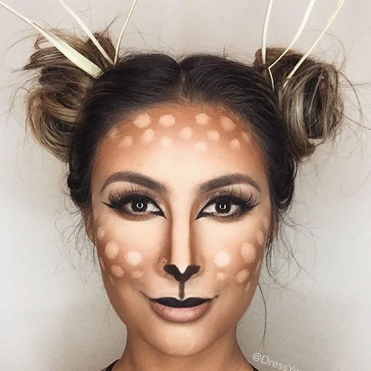 Another adorable costume idea  BAMBI ❤️ How freakin cute does @dressyourface lk ✨✨✨ #laurag_143