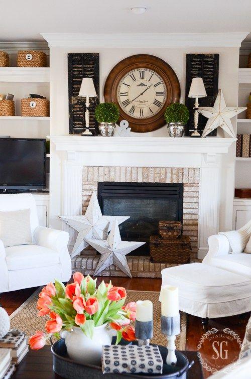 WINTER IN THE FAMILY ROOM - StoneGable