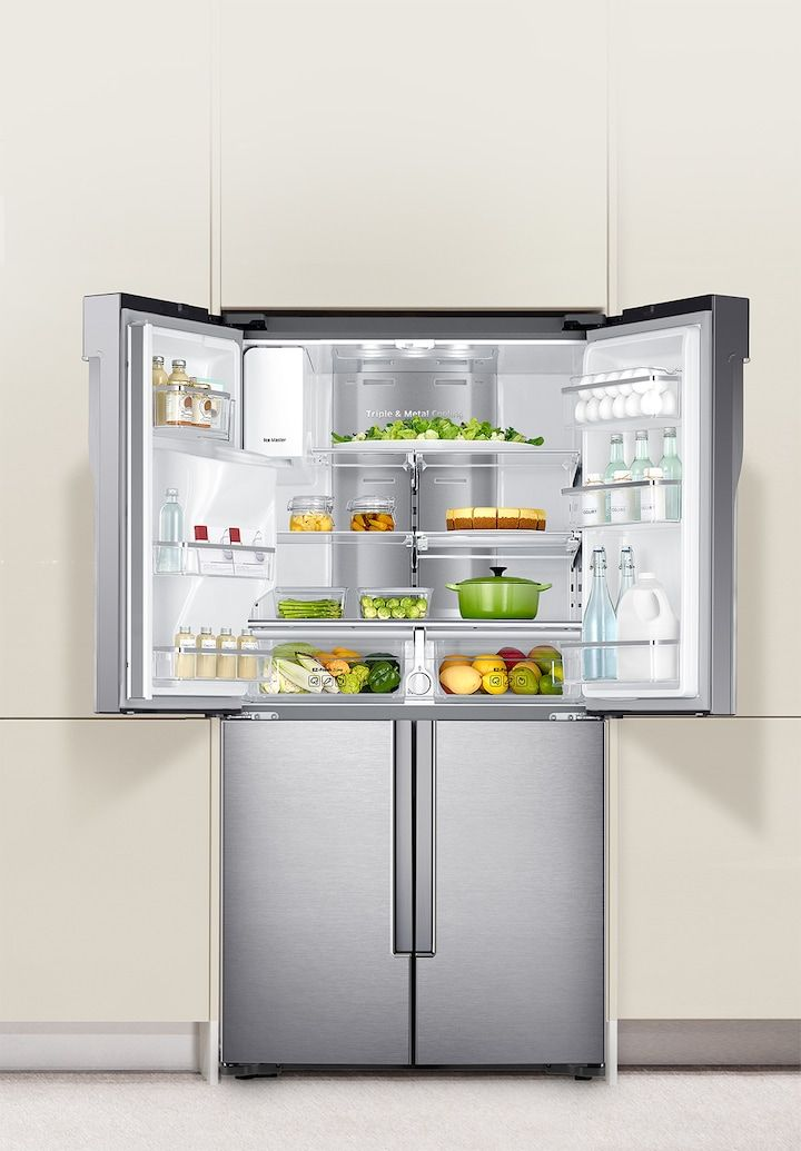 הרמוניית מטבח מרעננת ונפלאה American Style Fridge Freezer