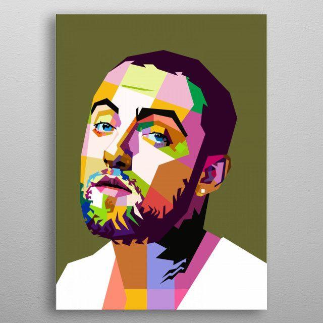 """Mac Miller /""""Mac Miller/"""" Art Music Album Poster HD Print Decor 12/"""" 16/"""" 20/"""" 24/"""""""