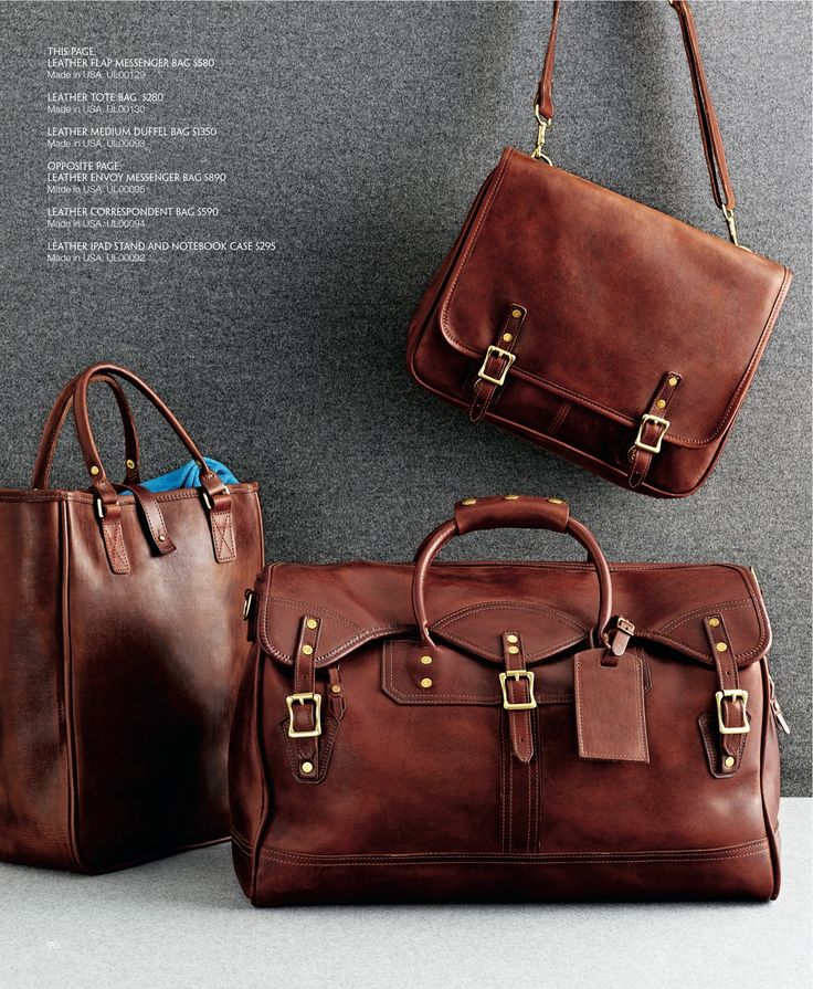 J.W. Hulme in the Brooks Brothers Holiday Gift Book 2013 #MadeInAmerica #MadeToLast #ClassicDuffle