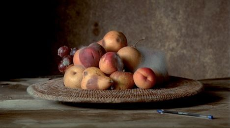 Sam Taylor-Wood Still Life 2001 http://samtaylorjohnson.com/moving-image/art/still-life-2001