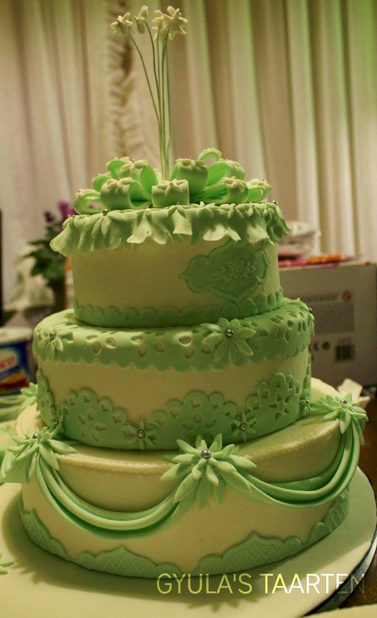 groene taart