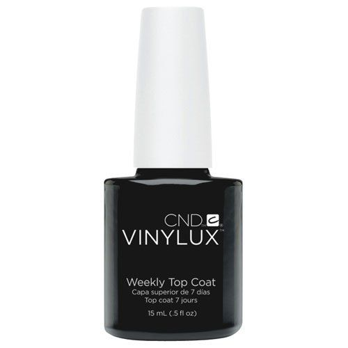 Creative Nail Design Vinylux Nail Lacquer, Weekly Top Coat, 0.5 Fluid Ounce ... (Bought 12/13/2015 on Amazon)