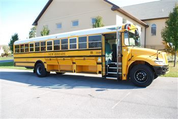 Full Size School Bus 48 Passenger Capacity Air