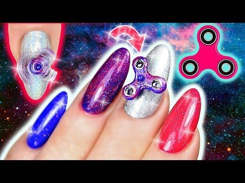 Natasha has created some fidget spinner-inspired nails, inspired by her three sons.    Fidget spinners have lately become a craze amongst youngsters, but they are actually a toy to relieve stress and are often used by those with autism.