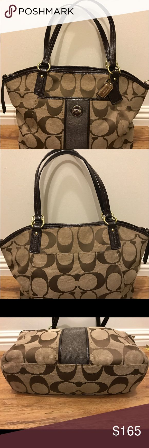 Coach Brown Purse/ Shoulder bag and Crossbody Authentic Coach Purse, Very Gently Used in Excellent Condition, no damage and clean Coach Bags Shoulder Bags