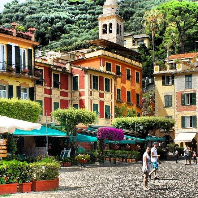 Портофино - настоящий райский уголок Италии