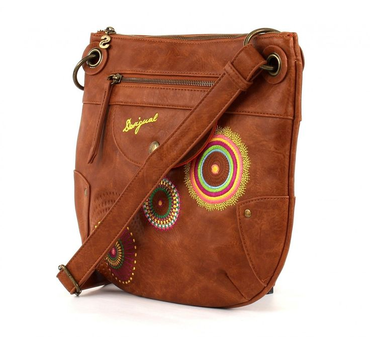desigual brooklyn audrey sac bandouli re marron tostado taille unique sac sacs main. Black Bedroom Furniture Sets. Home Design Ideas