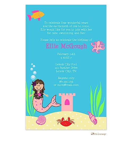 Best Summer And Pool Party Invitations Images On