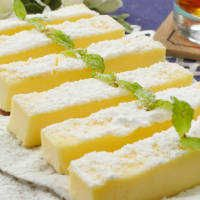 レンジで3分!塩バニラのしっとりスティックチーズケーキ