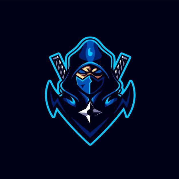 Ninja Esport Gaming Logo Logo Design Art Logo Illustration Design Art Logo Full hd gamer logo wallpaper