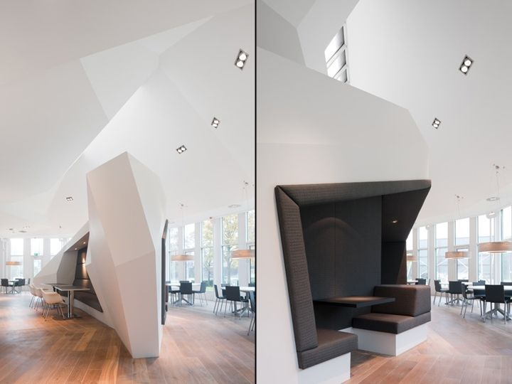 BNP Paribas office by Fokkema Partners Architects Amsterdam Netherlands