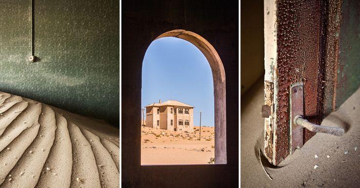 Kolmanskop, Namibia. A photographer's dream come true. #namibia #luxurytravel #namibiaphotography