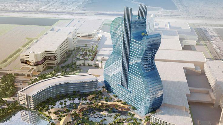 Rockin' guitar-shaped Florida hotel celebrates construction milestone (Courtesy Seminole Tribe of Florida)