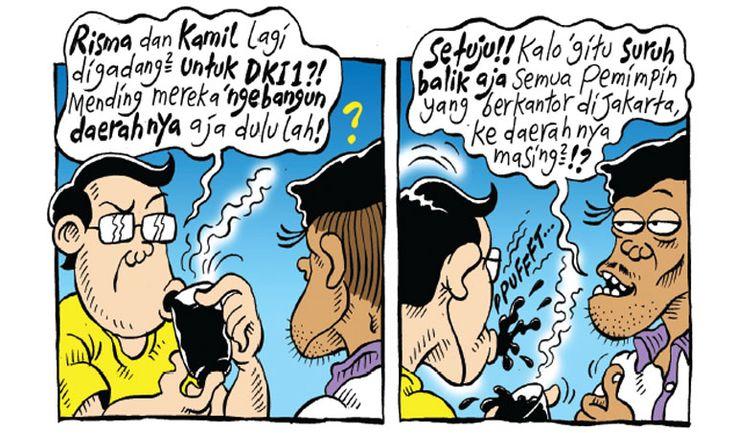 Kartun Politik Mice Cartoon - Agustus 2016: Balik Kandang
