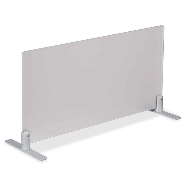 Lorell Concordia Frost Surf Upper Desk Partitions
