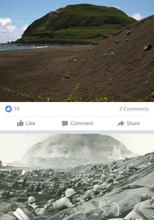 Iwo Jima - Now & Then